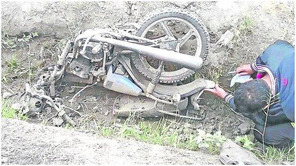Áncash: Pareja de esposos muere en accidente de carretera Santa-Chuquicara Accidente ocurrió en carretera de penetración cuando pareja retornaba de Santa a Alto Perú tras hacer compras