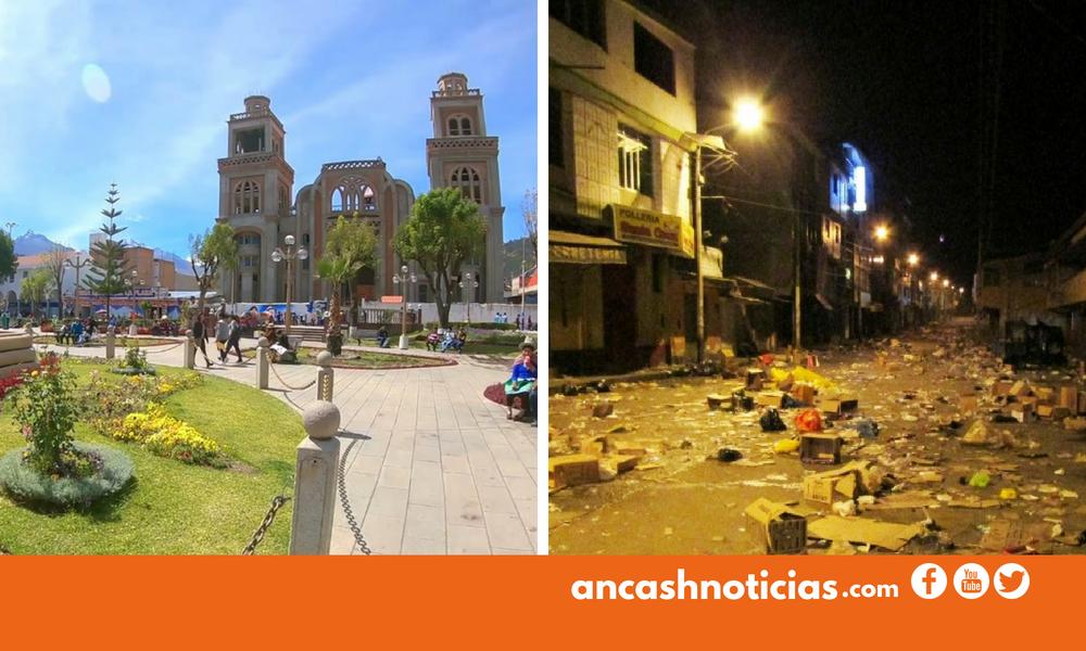 Huaracinos opinan sobre lo bueno, lo malo y lo feo de la ciudad