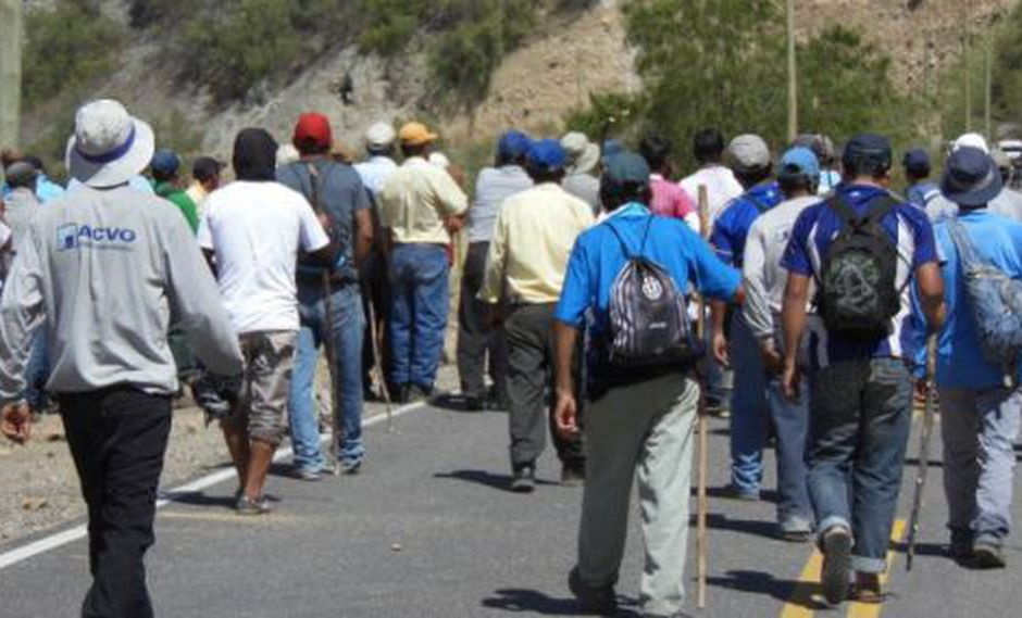LITIGIO DE LOS TERRENOS EN COLCA SANTA CRUZ  Y TOCASH LA REMONTA