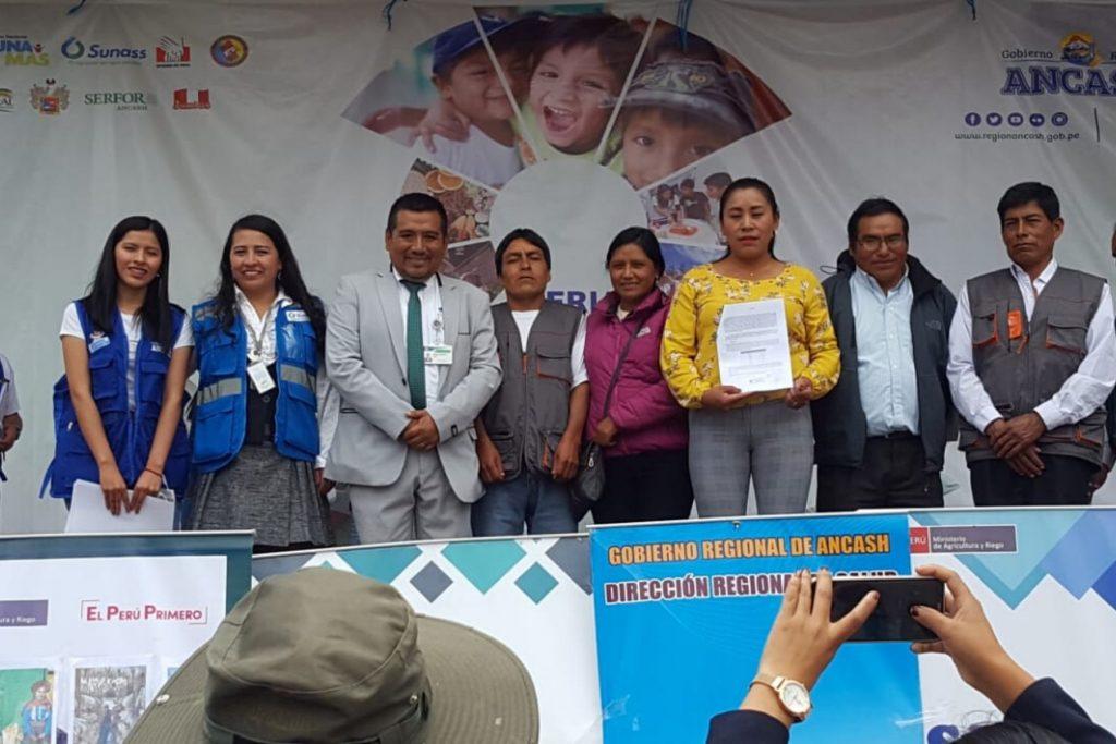 CAPACITACION DE JASS PARA SERVICIO DE SANEAMIENTO EN COMUNIDADES